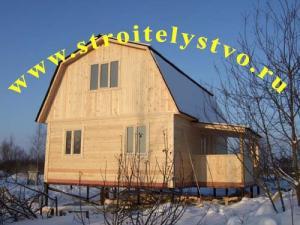 Строительство деревянного дома «Д-7ст»
