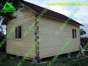 Строительство брусового дома «Д-88 ст»