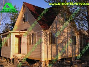 Деревянный дом «Д-4ст»