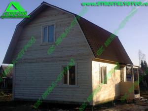 Строительство брусового дома «Д-37 ст»