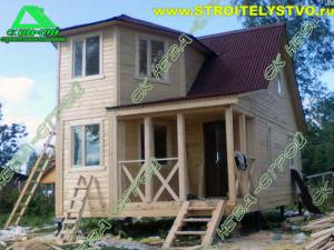 Деревянный дом 6х7,5 Д-27ст