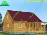 Дачный дом 7х8м «Д-87ст» - 649000 рублей