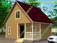 Комплектация и стоимость каркасно-щитовых домов